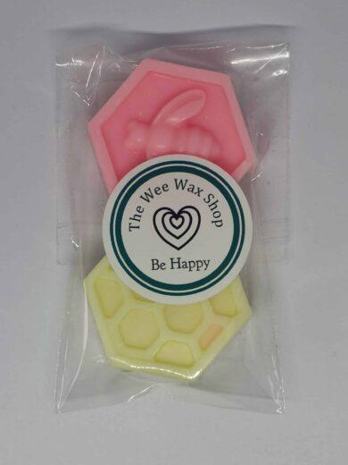Honeycomb Be Happy Wax Melt scaled