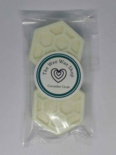 Honeycomb Cucumber Crush Wax melt scaled