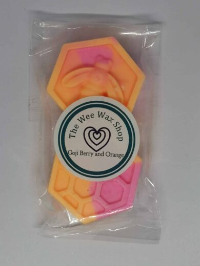 Honeycomb Goji Berry and Orange Wax Melt scaled