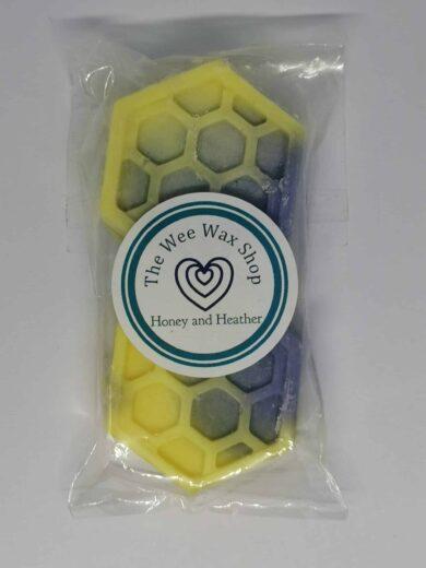 Honeycomb Honey and Heather Wax Melt scaled