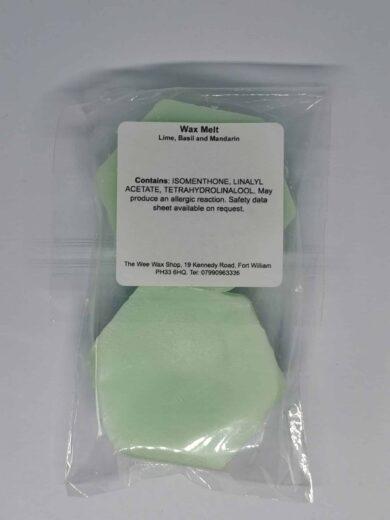 Honeycomb Lime Basil and Mandarin Rear scaled