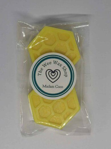 Honeycomb Madam Coco Wax Melt scaled