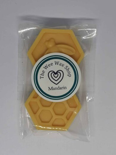 Honeycomb Mandarin Wax Melt scaled