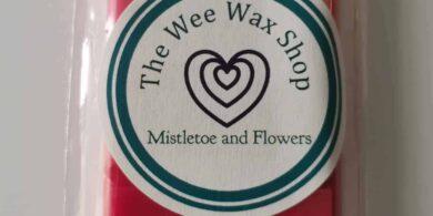 Snap Bar Mistletoe and Flowers Wax Melt