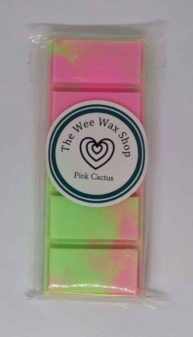 Snap Bar Pink Cactus Wax Melt