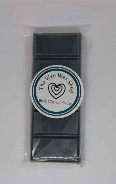 Snap Bar Black Clay and Cedar Wax Melt
