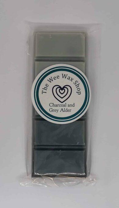 Snap Bar Charcoal and Grey Alder Wax Melt