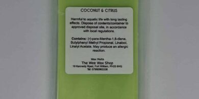 Snap Bar Coconut and Citrus Rear