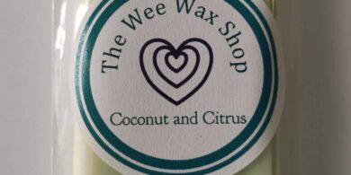 Snap Bar Coconut and Citrus Wax Melt