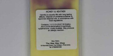 Snap Bar Honey and Heather Rear