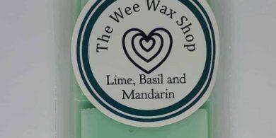 Snap Bar Lime, Basil and Mandarin Wax Melt