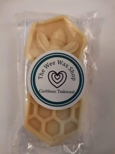 Honeycomb Caribbean Teakwood scaled