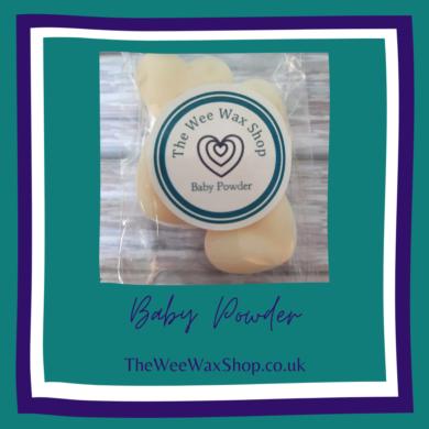 Baby Powder hearts Front