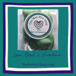 Lime B hearts front