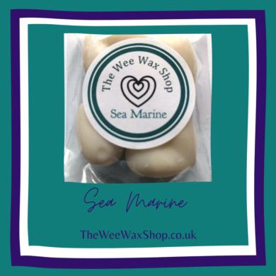 Sea Marine hearts front