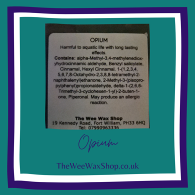 opium back