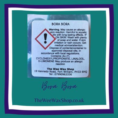 Bora B back